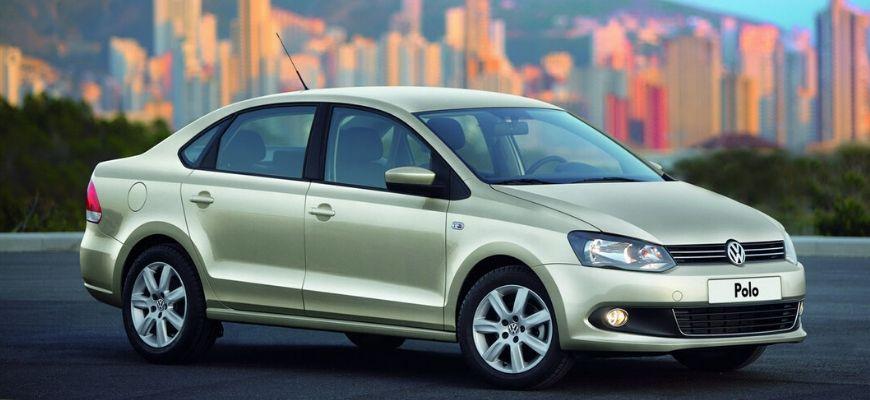 Седан Polo Volkswagen