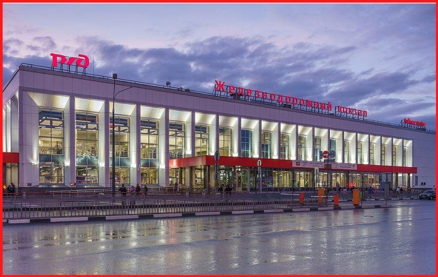 """Железнодорожный вокзал Нижнего Новгорода """"Московский"""""""
