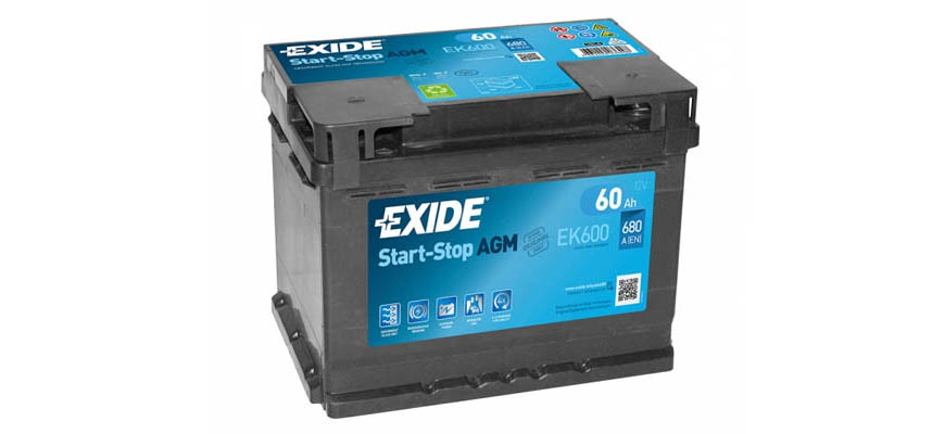 аккумулятор Exide Start-Stop AGM EK600