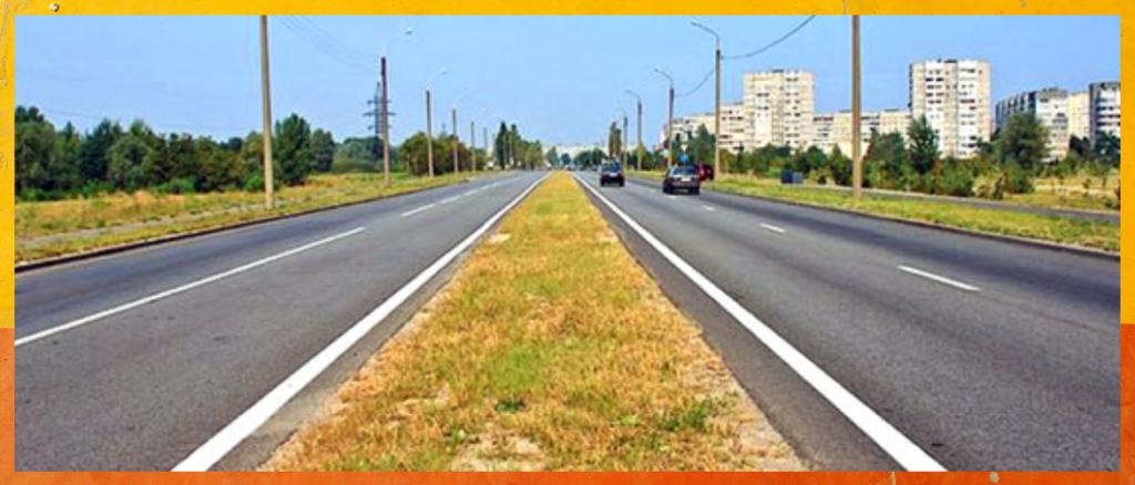 Билет ПДД №2 (Вопрос 1):Сколько полос для движения имеет данная дорога?