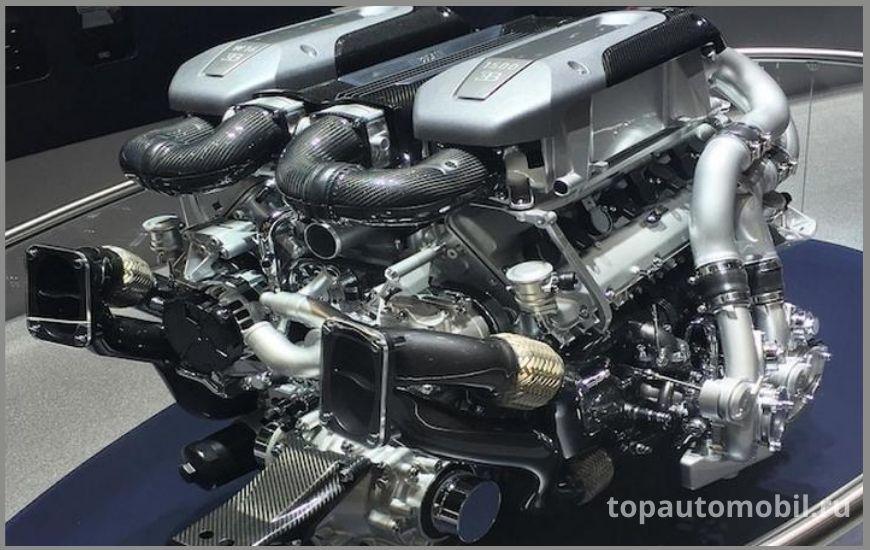 Двигатель Bugatti 8.0 W16