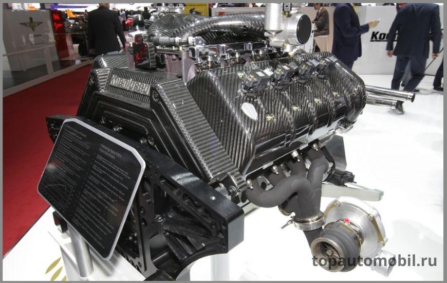 Двигатель Koenigsegg 5.0