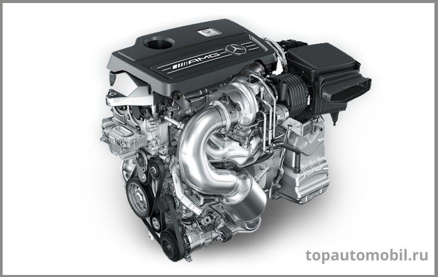 Двигатель Mercedes-AMG 2.0