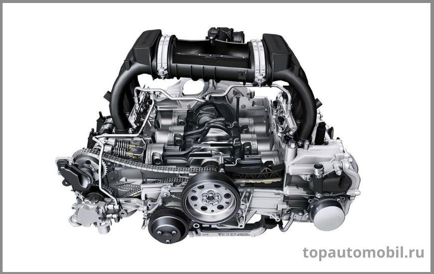 Двигатель Porsche 3.8