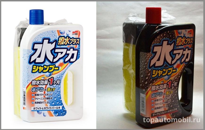 Soft99 Super Cleaning Shampoo + Wax