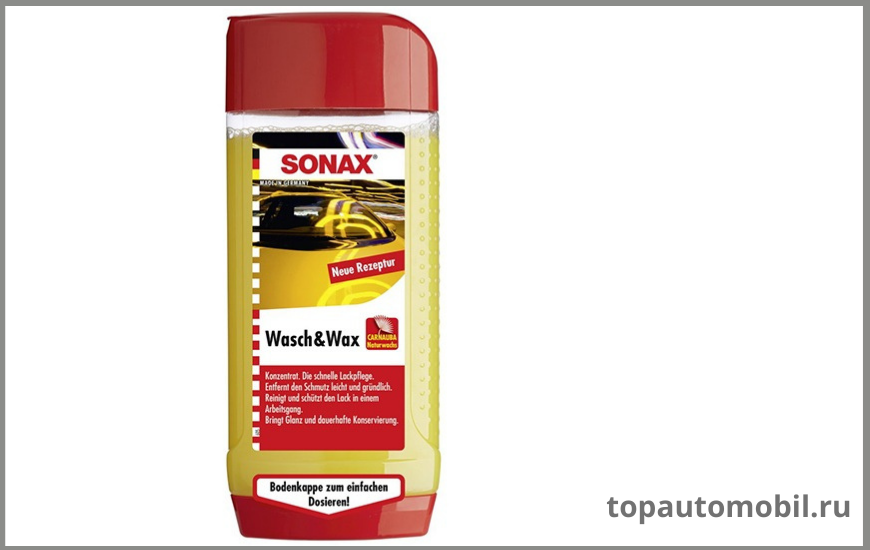 Sonax Wash Wax