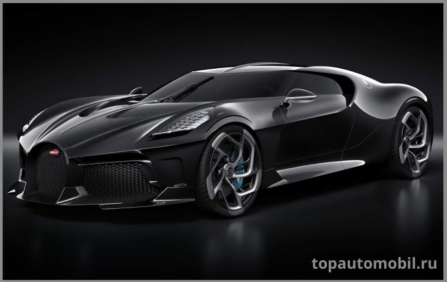 Автомобиль Bugatti La Voiture Noire