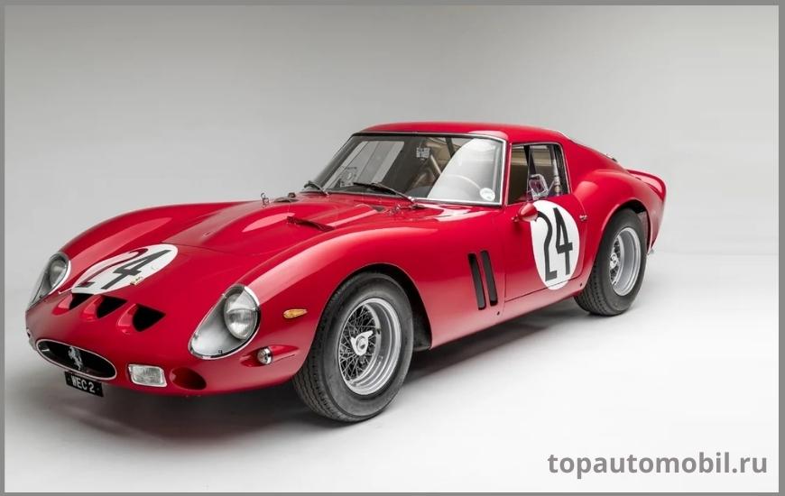 Автомобиль Ferrari 250 GTO 1962 года