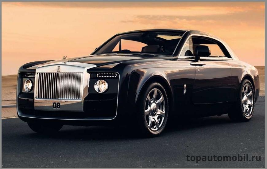 Автомобиль Rolls-Royce Sweptail