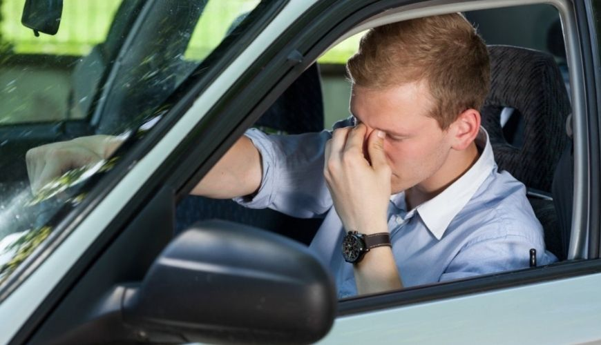 Самые частые ошибки при управлении автомобиля