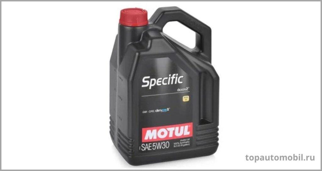Синтетическое масло MOTUL SPECIFIC DEXOS2 5W30: где купить, отзывы, параметры